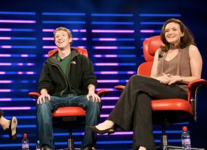 Mark Zuckerberg & Sheryl Sandberg