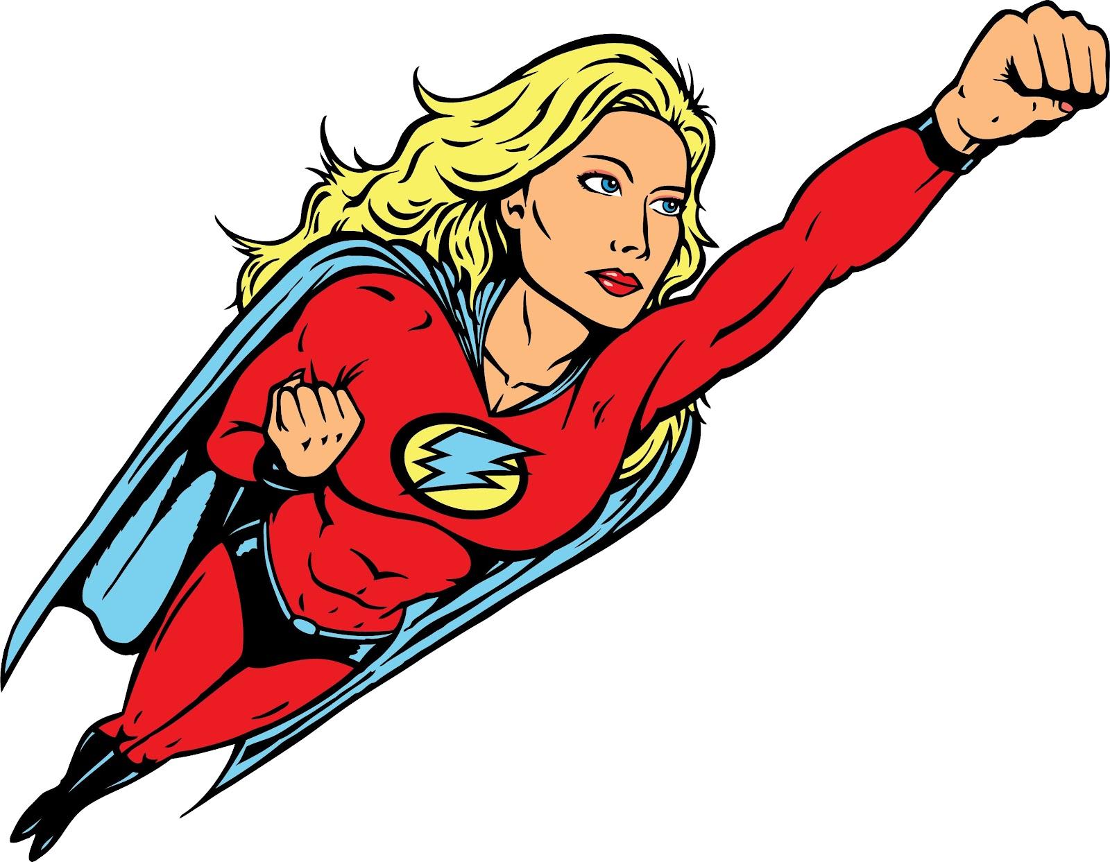 Avez vous le complexe de superwoman eve - Image super heros fille ...